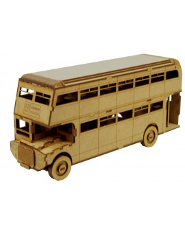 ALBUM LONDON BUS CON MAQUETA 3D 4 PL.