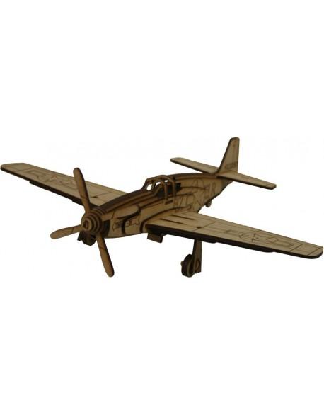 ALBUM MUSTANG P-51 CON MAQ. 3D 2PL D3