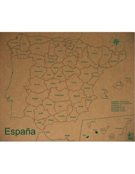 ROMPECABEZAS PROVINCIAS DE ESPAÑA 300x370