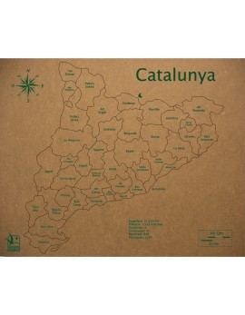 ROMPECABEZAS COMARCAS DE CATALUÑA 300x370